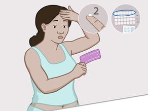 Çfarë duhet të bëni nëse keni harruar të merrni 2 ose më shumë pilula? - Në javën e parë të paketës (dita 1 deri në 7)