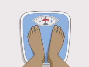 اتصلي بالقابلة أو طبيب النسائية على الفور عند فقدان الوزن الشديد.