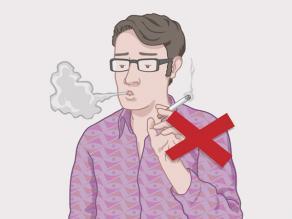 Beperk sigaretten, drugs en alcohol tot het minimum.